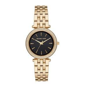 Lowest! Michael Kors Gold toned glitz watch